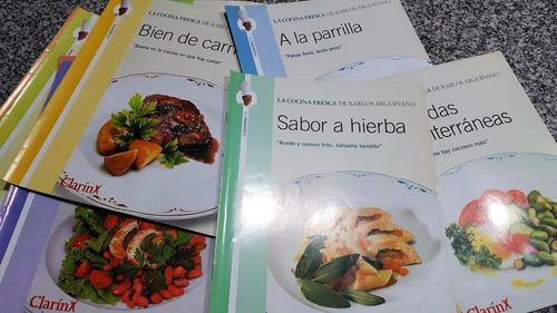 Revistas La Cocina Fresca Karlos Arguiñano Clarín Temperley