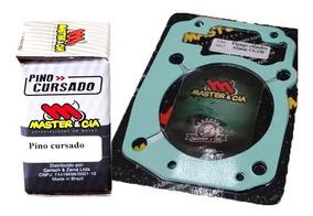 Pino Cursado + Flange 2mm Titan Cg150 - Master & Cia