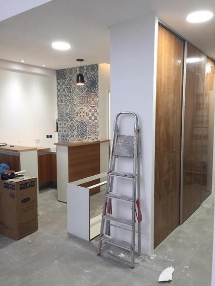 Sala Em Encruzilhada, Santos/sp De 64m² À Venda Por R$ 600.000,00 - Sa250448
