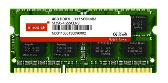 Memoria Innodisk Ddr3l 4gb 1333 Mhz Sodimm 1.35v