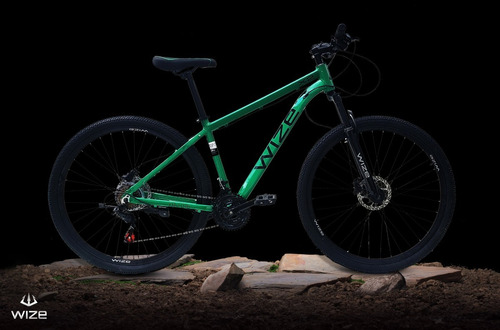 Imagen 1 de 2 de Bicicleta Aro 29 Wize X2 Hidraulica 24 Vel C/bloqueo 2021