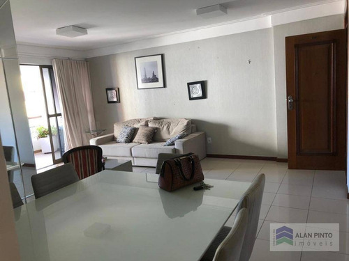 Apartamento Com 3 Dormitórios, 138 M² - Venda Por R$ 435.000,00 Ou Aluguel Por R$ 1.871,00/mês - Costa Azul - Salvador/ba - Ap0558