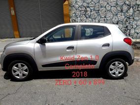 Renault Kwid 1.0 12v Zen Sce 5p Zero Entrada 899 Parc
