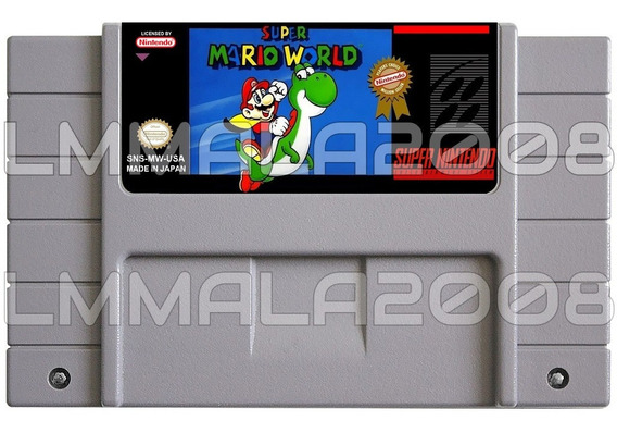 Super Mario World Português Original Snes Nintendo Salvando