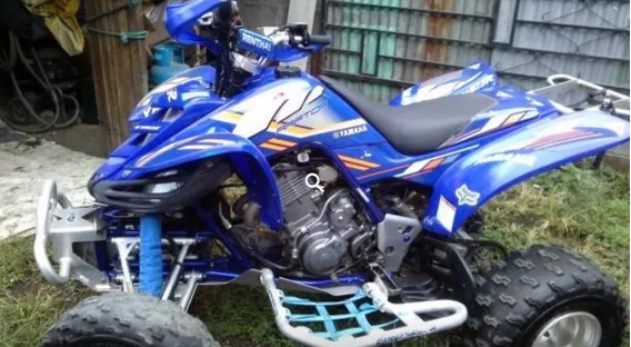 Cuadraciclo/cuatrimoto Yamaha Raptor 660cc 2004 Full Extras
