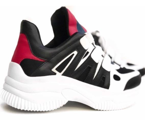 Tênis Casual Chunky Sneaker Sola Alta Flatform Caminhada Treino Caminhada 12x Original Envio Imediato Pink Lançamento