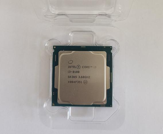 Processador Intel Core I3-8100 3.6ghz Lga 1151 Bx80684i3810