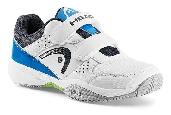 Zapatos Para Jugar Tenis Niño Head Nitro Velcro