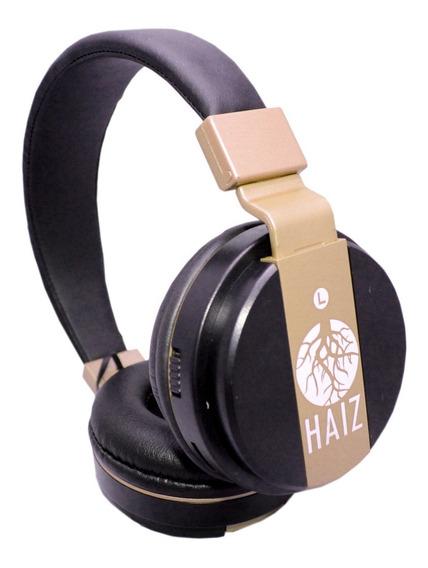 Fone Ouvido Bluetooth Haiz Fm Mp3 Cartão Sd Ultrabass Hz-18