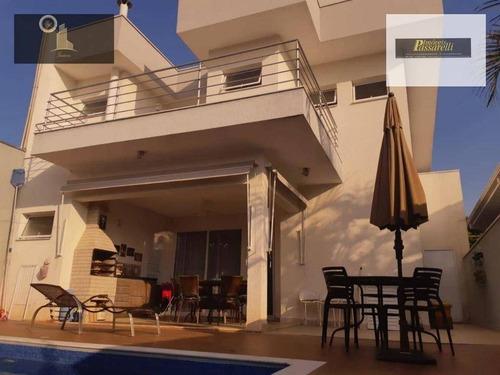 Casa Com 3 Dormitórios À Venda, 200 M² Por R$ 1.420.000,00 - Condomínio Reserva Da Mata - Vinhedo/sp - Ca1831