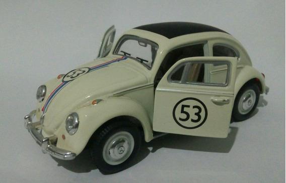 Miniatura 1/43 Cararama Fusca Herbie Volkswagen Beatle