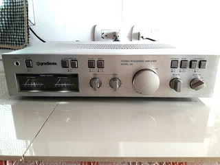 Amplificador Gradiente Model 126 Impecable