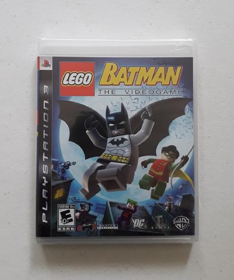 Jogo Batman Lego 1 Ps3 Mídia Física Novo Lacrado Cd Play 3