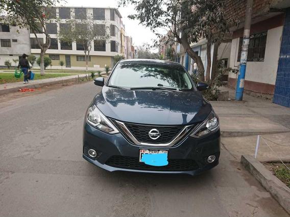 Nissan Sentra 2018 Advance 1.8l Azul Grafito