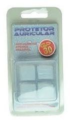 Protetor Ouvido 100% Silicone C/2 Pares Kit C/6 Dogma