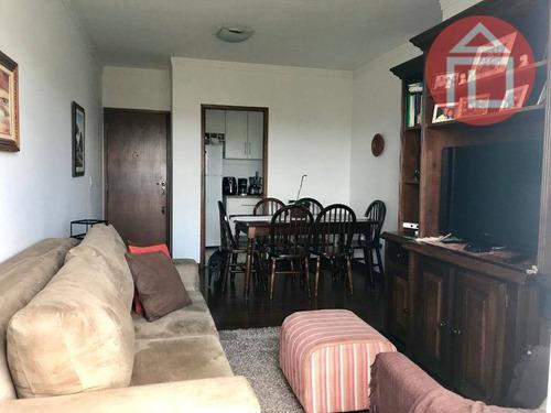 Apartamento Com 3 Dormitórios À Venda, 78 M² Por R$ 400.000,00 - Residencial Das Ilhas - Bragança Paulista/sp - Ap0677