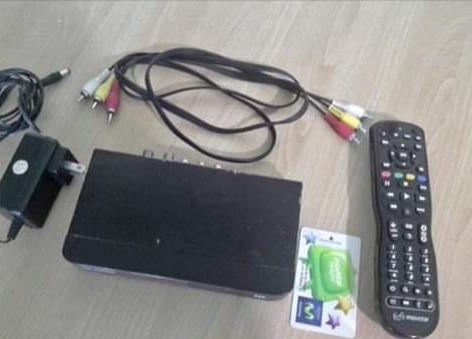 Movistar Tv Decodificador Control Antena Tarjeta Combo
