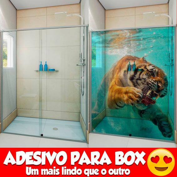 Incrível Adesivo 1.40x2.00mt +frete Box Banheiro 100 Modelo