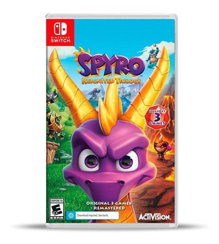 Spyro Reignited Trilogy (nuevo) Switch Físico, Macrotec