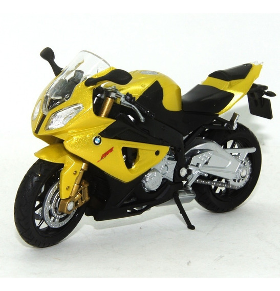 Moto Bmw S1000rr 1/18 Welly California Cycle