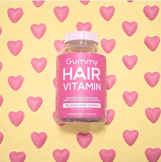 Gummy Hair Original Frete Grátis + Brinde