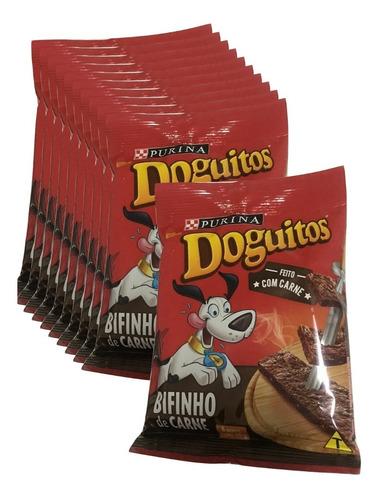 Doguitos Bifinho Carne Purina 8 Bifinhos 65g - 10 Pacotes