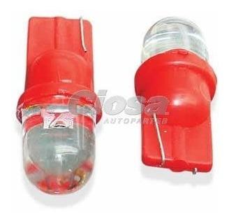 Foco Led 158, 12v, 1 Leds, Rojo, 2 Pzs
