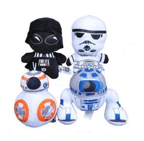 Kit 4 - Pelúcias Star Wars 20cm