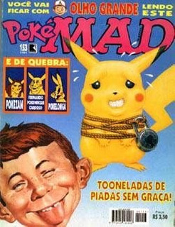 Hq:revista-mad Numero:153-pokemon,tarzan,austin Powers
