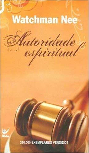 Livro Autoridade Espiritual Frete Grátis