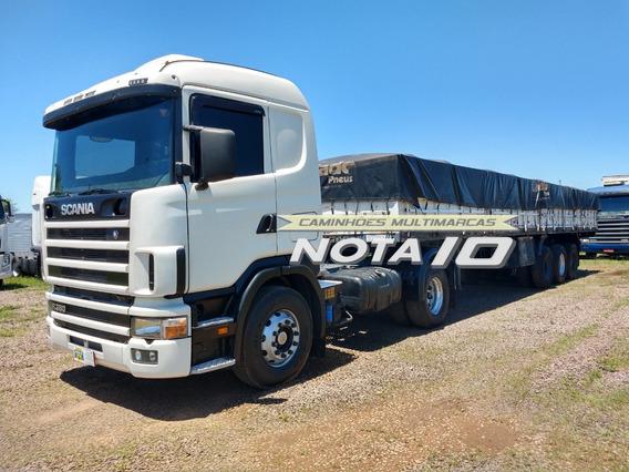 Scania 114 380 4x2 2006 + Carreta Graneleira Randon 2005