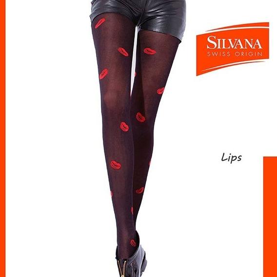 Media Silvana Panty Lips Art 9615li Talles A, B Y C
