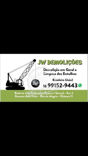 Jw Demolições Em Franca Serviço De Qualidade E Responsabilid