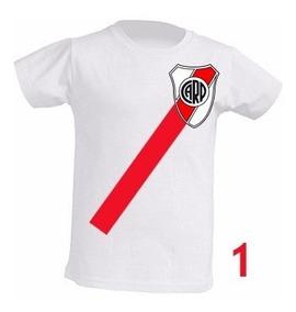 Camiseta Infantil River Plate Sublimada