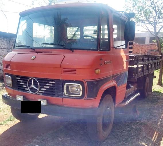 Mb L 608 D - 81/81 - Carroceria De Madeira, Motor Feito