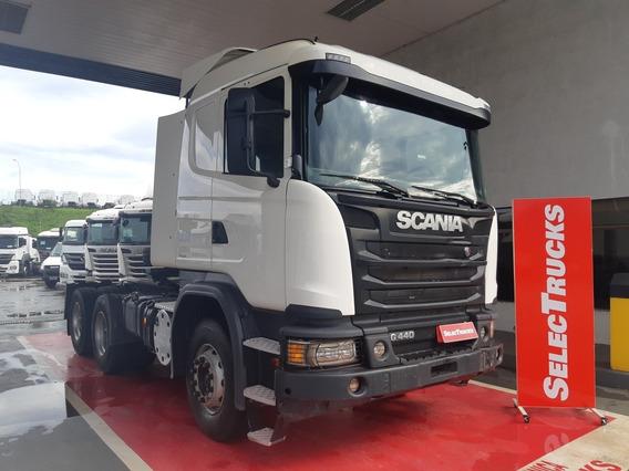 Scania G440 6x4 17/18 Optcruise Rodoviário Selectrucks