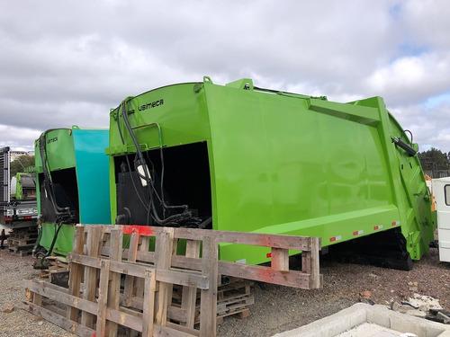Imagem 1 de 15 de Lote Com 09 Compactadores De Lixo Usimeca Para Toco E Truck