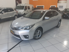 Toyota Corolla Xei 2017 Prata 2.0 Flex Autom Top Couro Ud