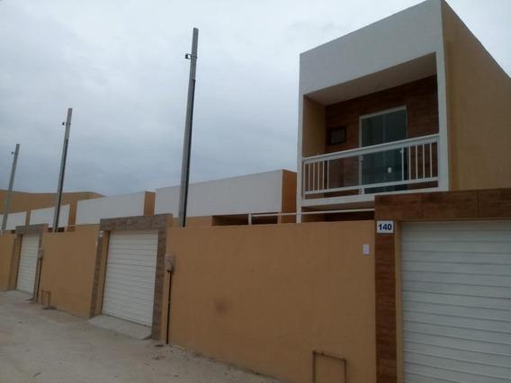 Casa Com 2 Dormitórios À Venda, 53 M² - Parque São Vicente - Belford Roxo/rj - Ca0277