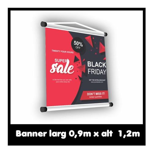Banner Fotográfico 90x120cm Lona 440gr