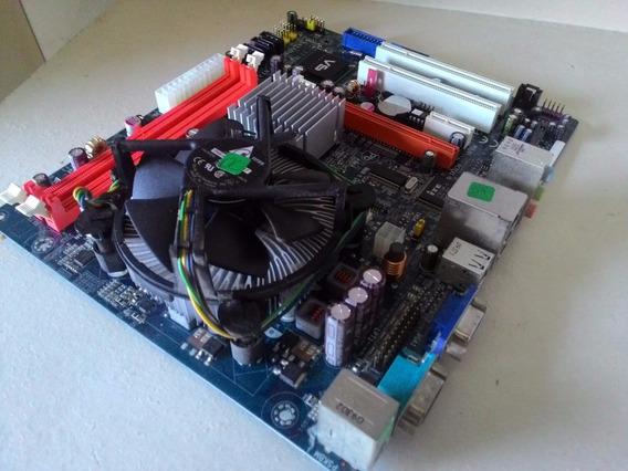 Kit Placa Mãe Desktop 775