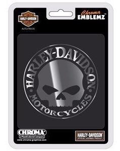 Emblema Original Harley Davidson 4piezas. Envío Gratis