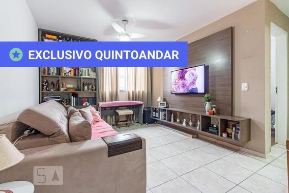 Apartamento No 6º Andar Com 2 Dormitórios E 1 Garagem - Id: 892958061 - 258061