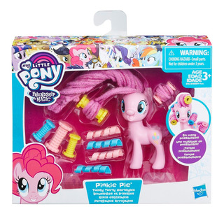 My Little Pony Rizos Estilizados Pinkie Pie Hasbro