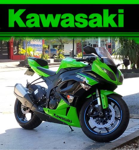 Kawasaki 600 Zx6r Ninja