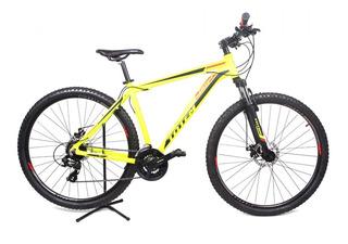Mountain Bike Aro 29 Totem 24v Amarela Neon