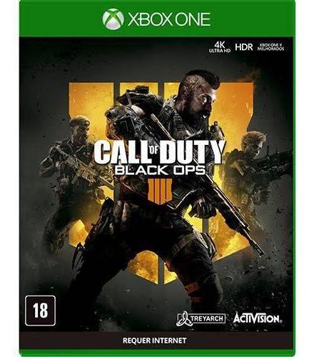 Call Of Duty Black Ops 4 Xbox One Dublado Pt Mídia Física