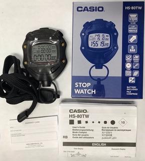 Cronometro Casio Hs-80w + Envío Gratís