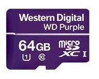 Wd 64gb Micro Sdxc Purple Clase 10
