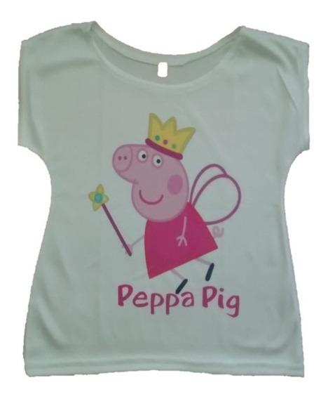 Blusa Para Niñas Princesa Sofia Frozen Peppa